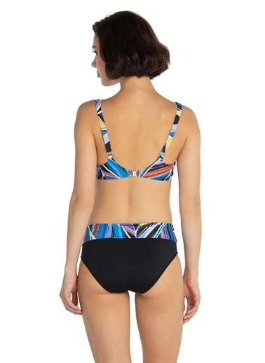 Dagi Balenli Bikini Takım Siyah